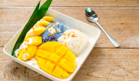 Sticky Rice (mit Mango)